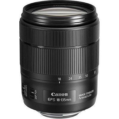 Lente Canon EF-S 18-135mm f/3.5-5.6 IS com tecnologia Nano USM