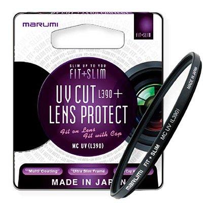 Filtro Marumi 52mm proteção UV CUT + LENSPROTECT