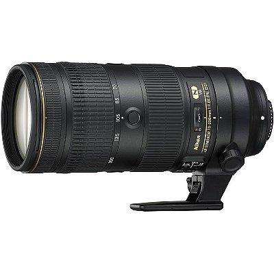 Lente Nikon AF-S NIKKOR 70-200mm f/2.8E FL ED VR