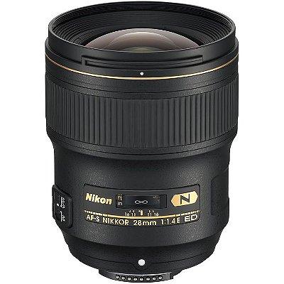 Lente Nikon AF-S NIKKOR 28mm f/1.4E ED