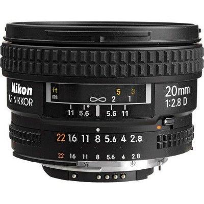 Lente Nikon AF NIKKOR 20mm f/2.8D
