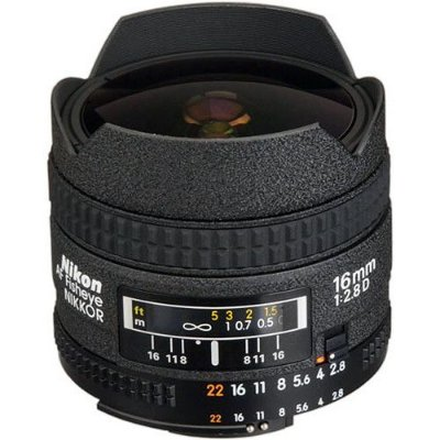 Lente Nikon AF Fisheye-Nikkor 16mm f/2.8D