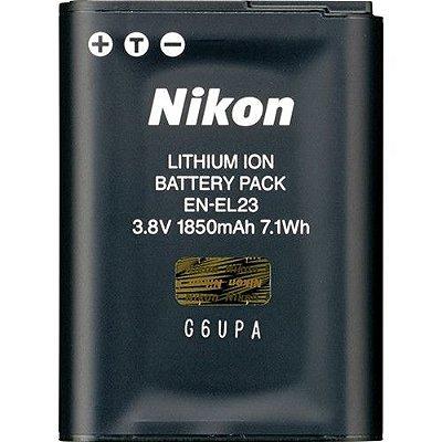 Bateria Nikon EN-EL23 para câmera Nikon COOLPIX B700 / P900 / P610 / P600 / S810c