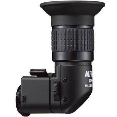 Visor de ângulo reto retangular Nikon DR-6 para Câmeras D3300 / D5600 / D7200 / D610 / D750