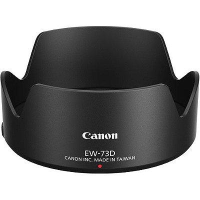 Parasol Canon EW-73D para Lente RF 24-105mm f/4-7.1 IS STM / EF-S 18–135mm f/3.5–5.6 IS USM (nano)