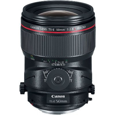 Lente Canon TS-E 50mm f/2.8L Macro Tilt-Shift