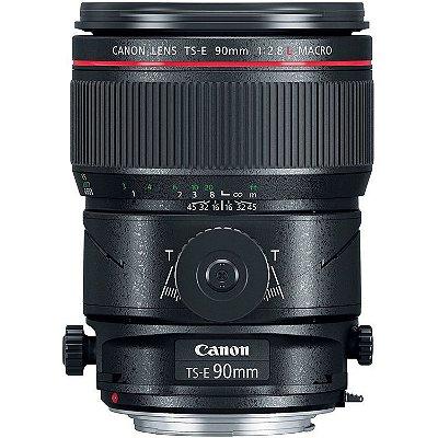 Lente Canon TS-E 90mm f/2.8L Macro Tilt-Shift