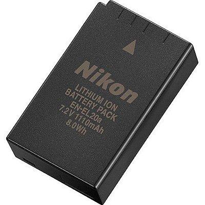 Bateria Nikon EN-EL20a para Câmeras COOLPIX P1000 / Nikon 1 V3 / 1 AW1 / COOLPIX A