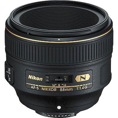 Lente Nikon AF-S NIKKOR 58mm f/1.4G
