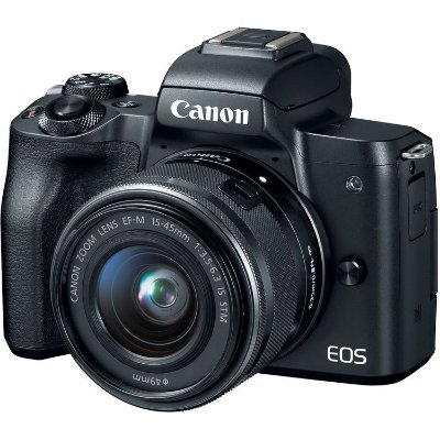 Câmera Canon EOS M50 Mirrorless Kit com Lente Canon EF-M 15-45mm f/3.5-6.3 IS STM