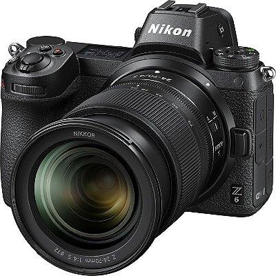 Câmera Nikon Z 6 Mirrorless Kit com Lente Nikon NIKKOR Z 24-70mm f/4 S