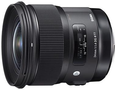 Lente Sigma 24mm f/1.4 DG HSM Art para Câmeras Canon EOS
