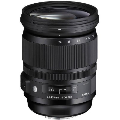 Lente Sigma 24-105mm f/4 DG OS HSM Art para Câmeras Nikon