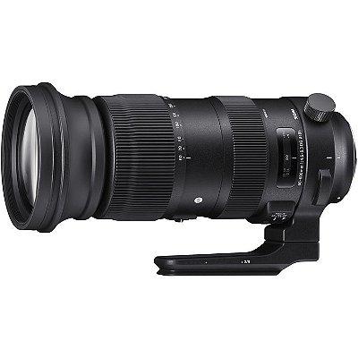 Lente Sigma 60-600mm f/4.5-6.3 DG OS HSM Sports para câmeras Nikon