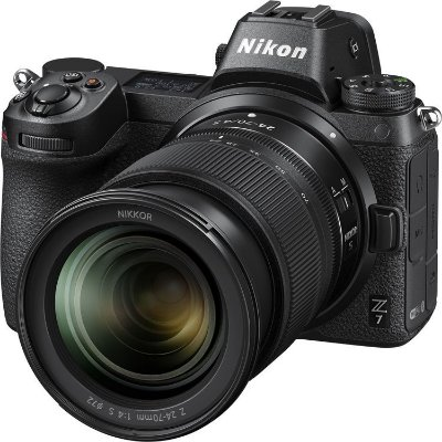 Câmera Nikon Z 7 Mirrorless Kit com Lente Nikon NIKKOR Z 24-70mm f/4 S