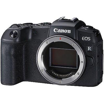 Câmera Canon EOS RP Mirrorless Corpo com Adaptador Canon Mount Adapter EF-EOS R
