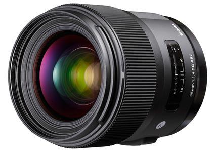 Lente Sigma 35mm f/1.4 DG HSM Art para Câmeras Sony E