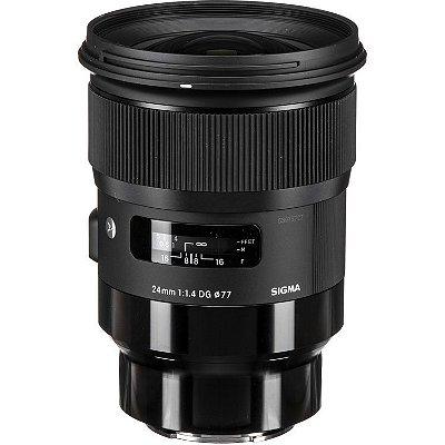 Lente Sigma 24mm f/1.4 DG HSM Art para Câmeras Sony