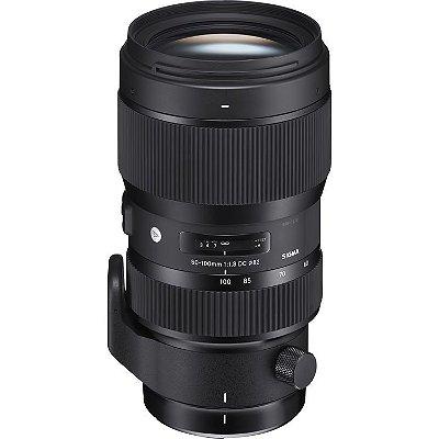 Lente Sigma 50-100mm f/1.8 DC HSM Art para Câmeras Nikon