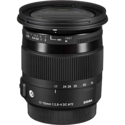 Lente Sigma 17-70mm f/2.8-4 DC Macro OS HSM para Câmeras Canon EF-S