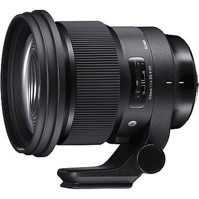 Lente Sigma 105mm f/1.4 DG HSM Art para câmeras Canon EOS