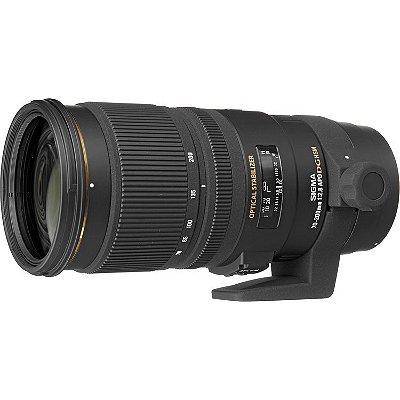 Lente Sigma APO 70-200mm f/2.8 EX DG OS HSM para câmeras Canon EOS