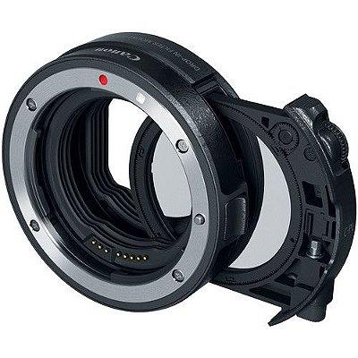 Adaptador Canon Drop-In Filter EF-EOS R com Filtro Circular Polarizador