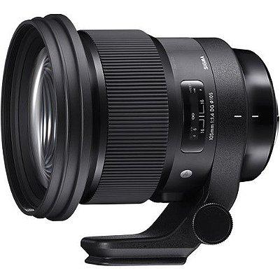 Lente Sigma 105mm f/1.4 DG HSM Art para câmeras Sony