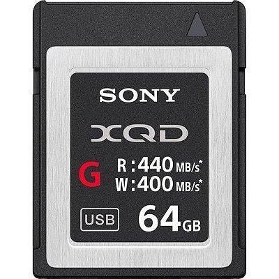Cartão de Memória Sony 64GB XQD G Series