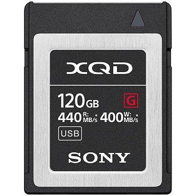 Cartão de Memória Sony 120GB XQD G Series
