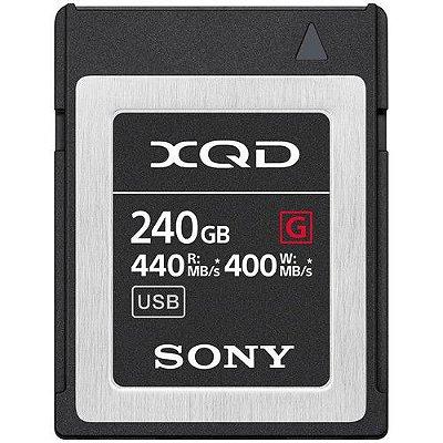 Cartão de Memória Sony 240GB XQD G Series 440MB/s
