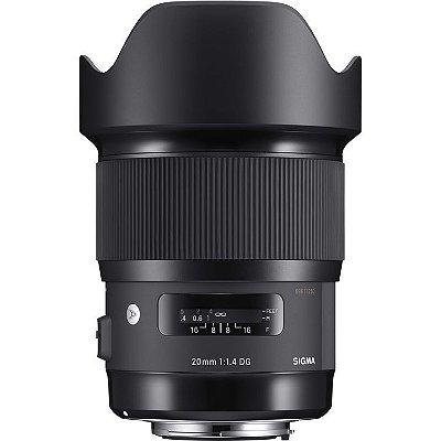 Lente Sigma 20mm f/1.4 DG HSM Art para Câmeras Canon EOS