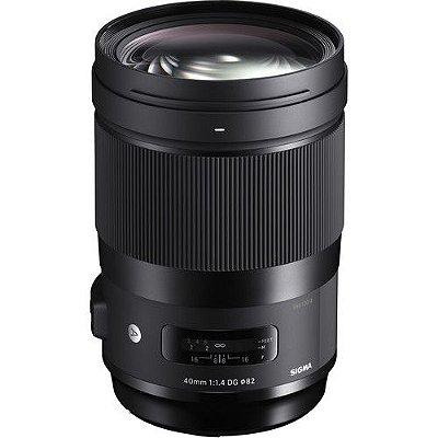Lente Sigma 40mm f/1.4 DG HSM Art para câmeras Canon EOS