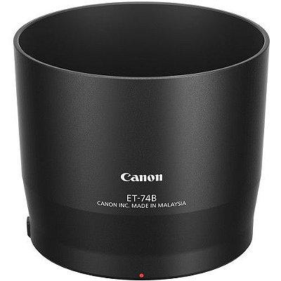 Parasol Canon ET-74B para Lente Canon EF 70-300mm f/4-5.6 IS II USM