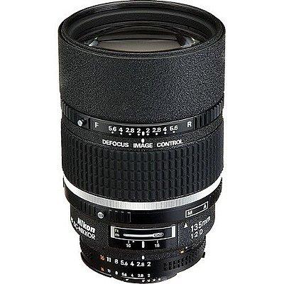 Lente Nikon AF DC-NIKKOR 135mm f/2D