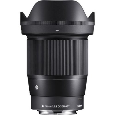 Lente Sigma 16mm f/1.4 DC DN Contemporary para Câmeras Canon EF-M