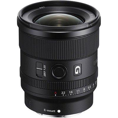 Lente Sony FE 20mm f/1.8 G