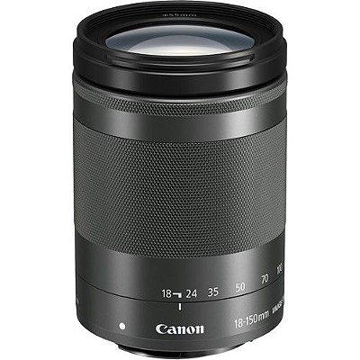 Lente Canon EF-M 18-150mm f/3.5-6.3 IS STM com Parasol Canon EW-60F