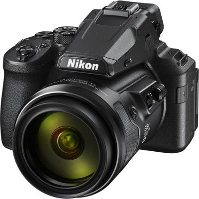 Câmera Nikon COOLPIX P950 zoom óptico de 83x NIKKOR com Wi-Fi, RAW 4K Ultra HD video