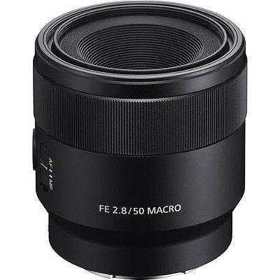Lente Sony FE 50mm f/2.8 Macro