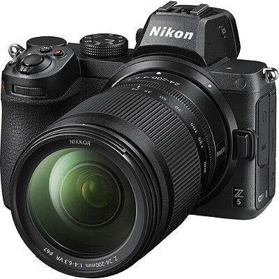 Câmera Nikon Nikon Z 5 Kit com Lente Nikon NIKKOR Z 24-200mm f/4-6.3 VR