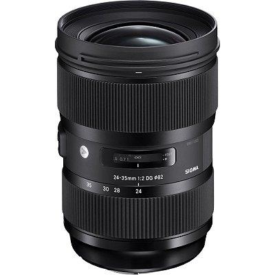 Lente Sigma 24-35mm f/2 DG HSM Art para Câmeras Canon EOS