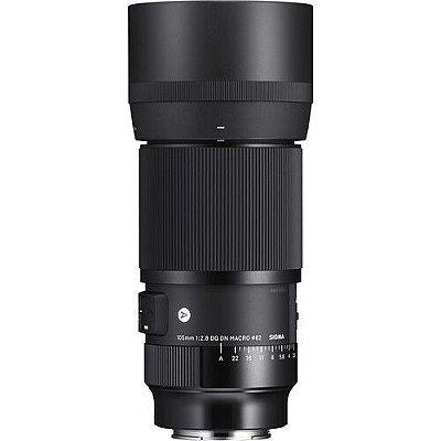 Lente Sigma 105mm f/2.8 DG DN Macro Art para Câmeras Sony E