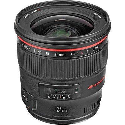 Lente Canon EF 24mm f/1.4L II USM