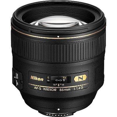 Lente Nikon AF-S NIKKOR 85mm f/1.4G