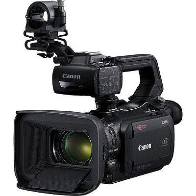 Câmera Canon XA55 UHD 4K30 Dual-Pixel Autofocus