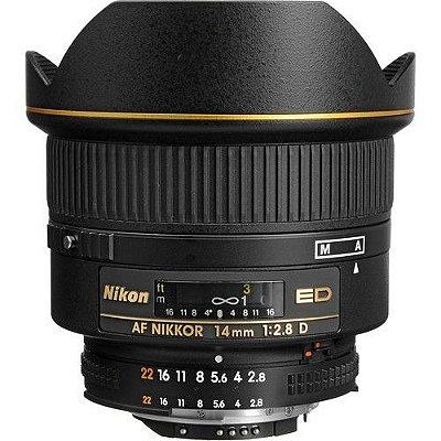 Lente Nikon AF NIKKOR 14mm f/2.8D ED