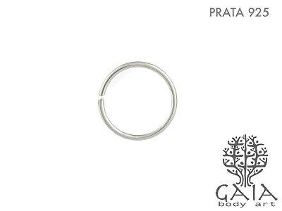 Argola Prata 925 Simples