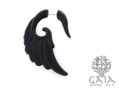 Falso Alargador Black Wing