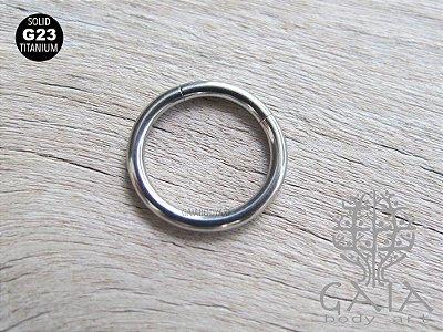 Argola Segmentada Titânio G23